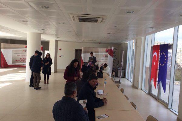 Girişimci Adaylarına EİŞGEM Bilgilendirme Turu