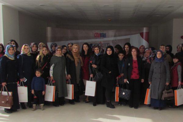 EİŞGEM'de Dünya Kadınlar Günü Kutlaması