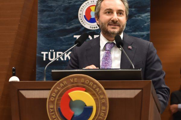 ETSO Başkanımız Sayın Arslan, Türkiye Ekonomi Şurası'nda Konuştu.